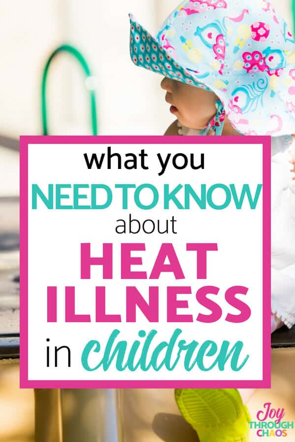 Heat illness in children is relatively common BECAUSE our kids are not that great at removing heat. Learn how to recognize and prevent common heat illnesses