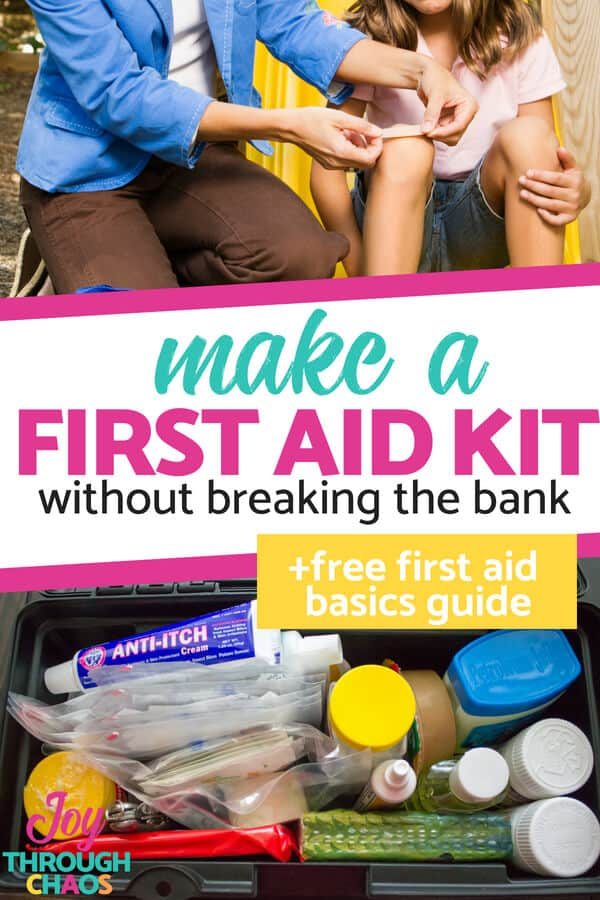 Need help figuring out what to put in your first aid kit? Here you'll find out exactly how to make a first aid kit without breaking the bank.