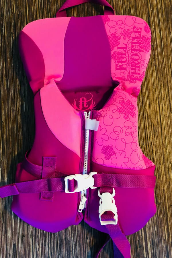 Pink Infant Life Jacket by Full Throttle