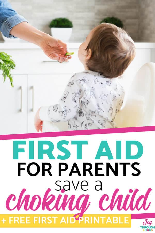 photo regarding Free Printable Choking Poster identify How in the direction of Help save a Choking Kid: Very first Assist Fundamentals for Dad and mom
