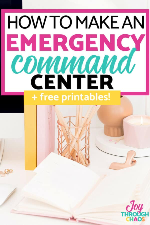 You need a family emergency command station. Somewhere to keep info that could save you some precious time in the event of an emergency. Click to learn more