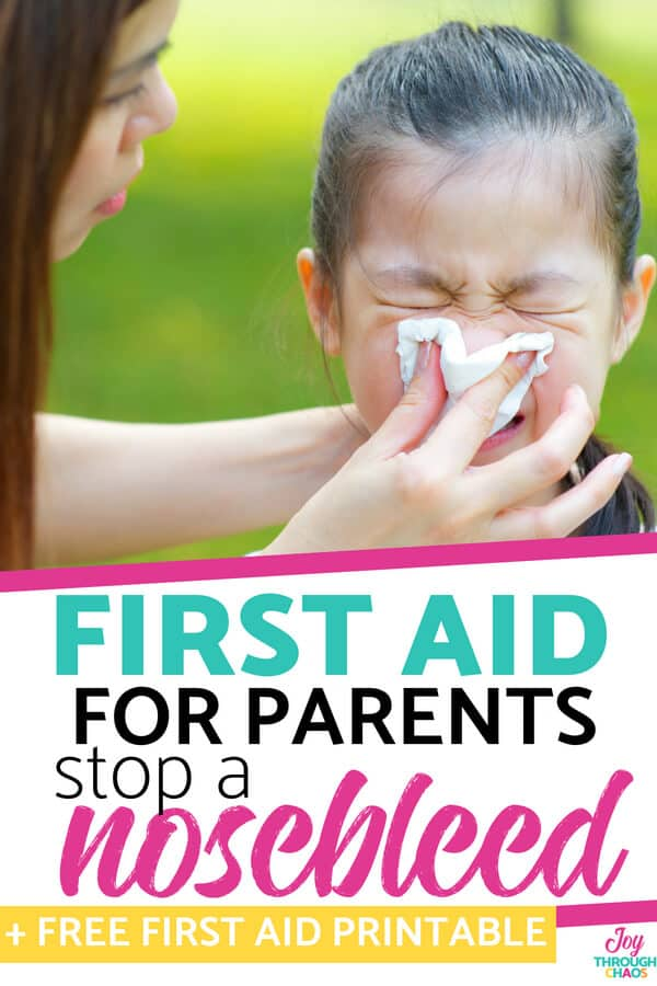 Kids get bloody noses a lot- mostly because they're gross little nose pickers. So, you need to know how to stop a bloody nose- the right way.