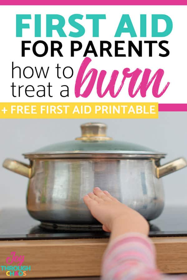 Burns are incredibly painful and calming a hysterical child after a minor burn is exhausting. Learn my best tips for treating burns in kids quickly!