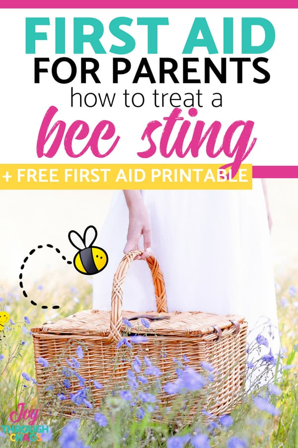 Bee stings happen often, so treating bee stings in kids is an essential skill for parents. I'm sharing my best tips and tricks for dealing with stings.