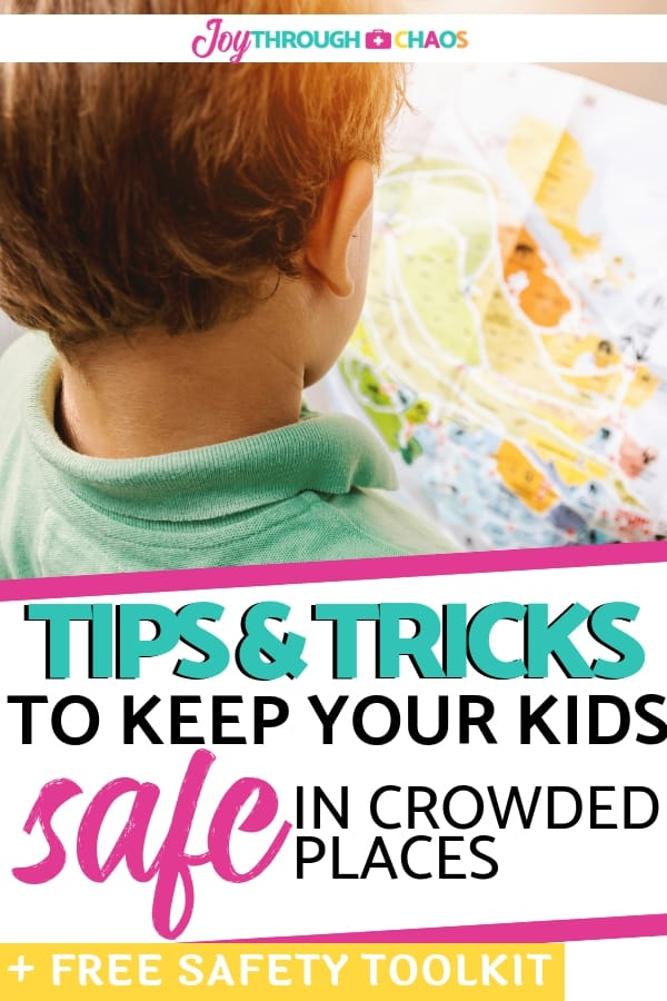 Learning how to navigate adventures with children is no small feat. These are my top 7 tips and tricks for child safety in crowded places!