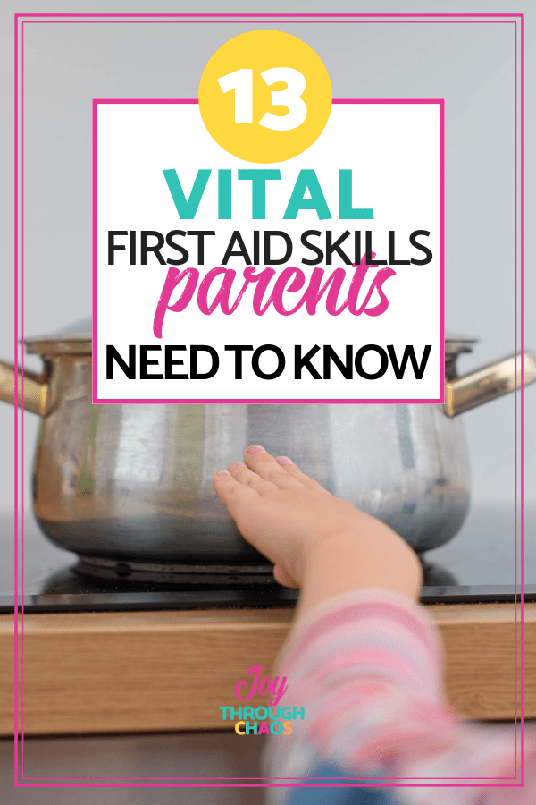 Learn what the necesary first aid skills for parents are, so that you don't feel helpless the next time your child gets hurt or sick!