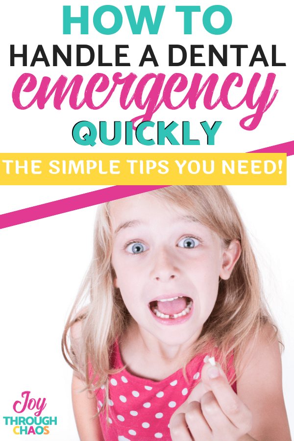 A dental emergency can happen anytime, anywhere and require quick action. Learn the steps you need to take to help your kids fast!