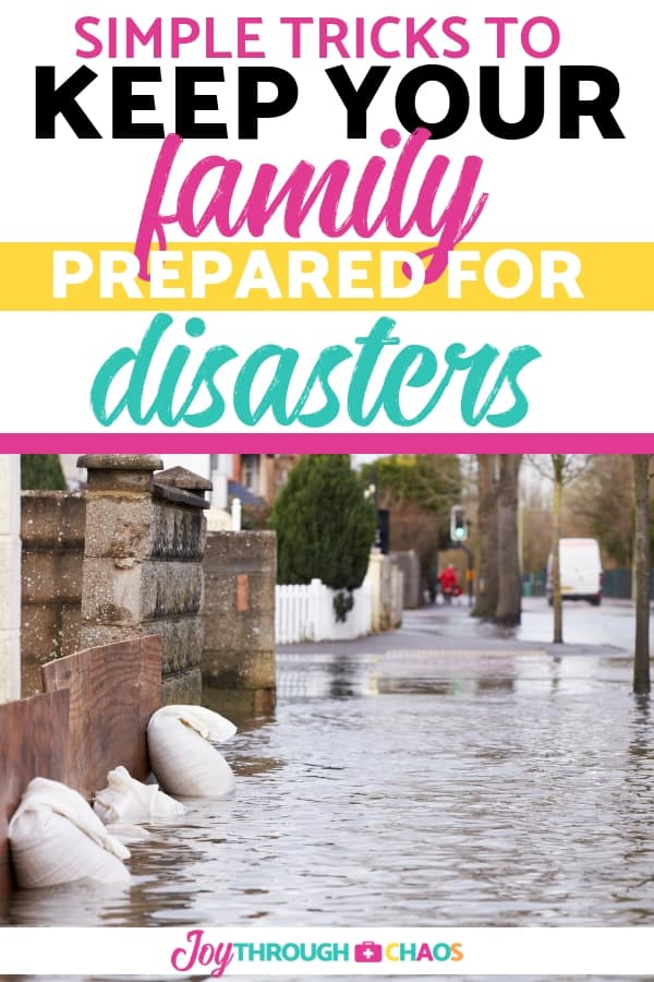When you have a family emergency plan in place, you can save yourself some time and quit panicking. Three things to do NOW to prepare for natural disasters.