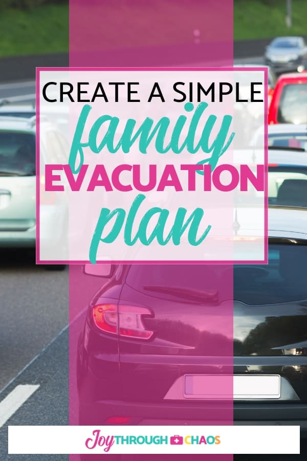 One of the simplest things you can do now to help avoid panic during an emergency is to create a family evacuation plan. I'll show you how!