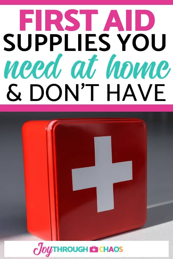 There are uncommon first aid supplies that you should always have on hand. Sharing the five uncommon supplies that are must-haves at my house!