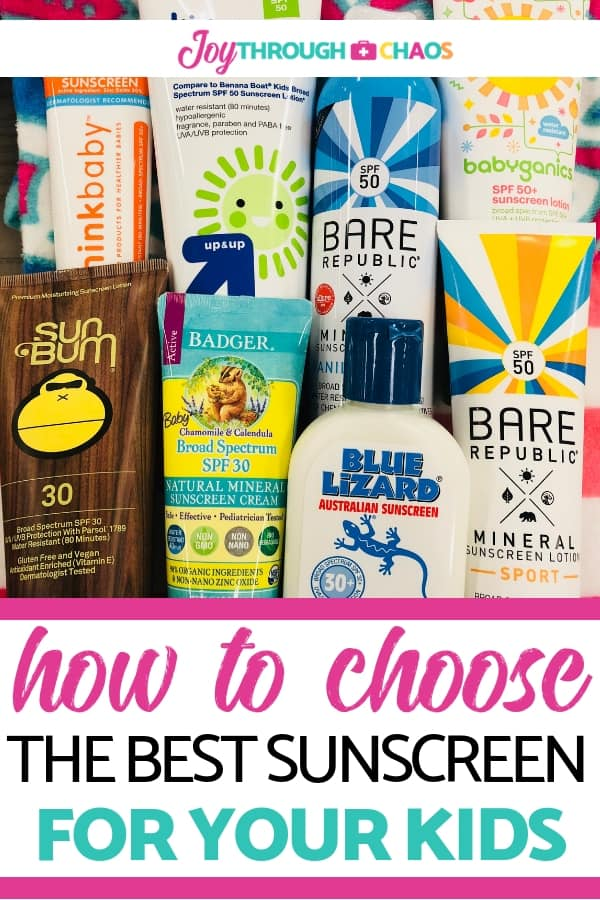 Looking at sunscreen displays is overwhelming. There are too many choices! Learn sunscreen tips, what to look for, and how to choose sunscreen for kids.