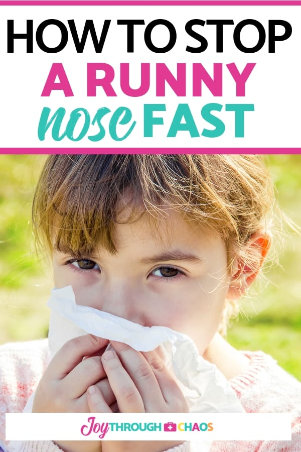 Kids get runny noses often. Check out the different runny nose causes and learn how to stop a runny nose instantly with the best runny nose home remedy!