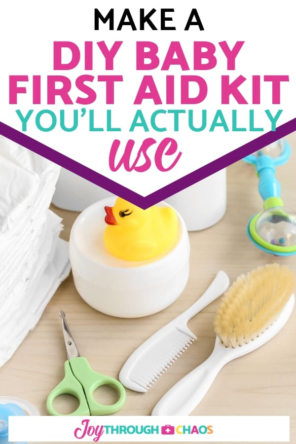 Stop buying useless health kits. Instead, make a baby first aid kit that actually works that you'll use over and over again.