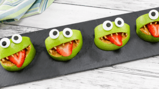 Monster Apple Bites - A Nutritious and Fun Snack Idea